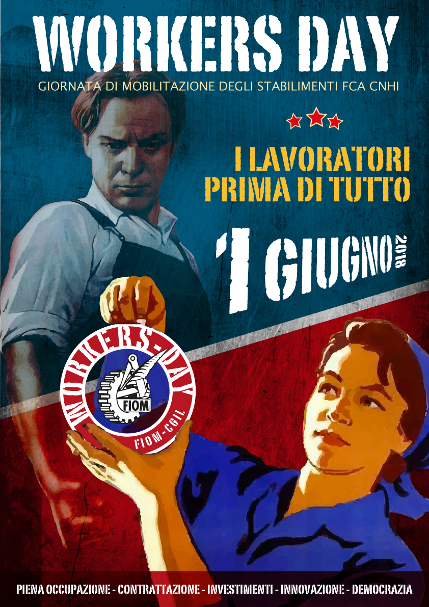 workers day, 1 giugno 2018