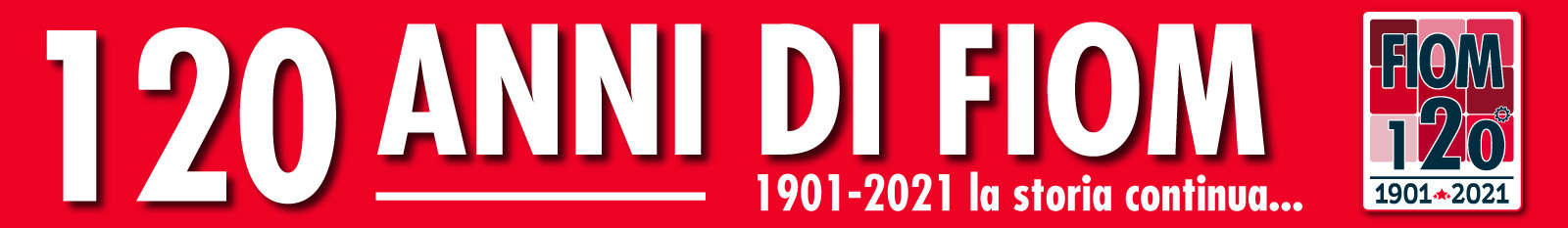 120 anni di Fiom. La storia continua