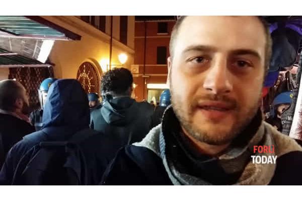 attacco fascista a Forlì