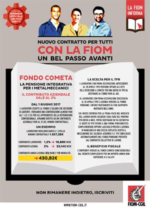 Volantino Contratto - Fondo Cometa