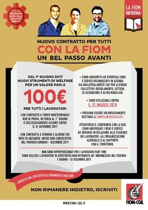 Volantino Contratto - Welfare