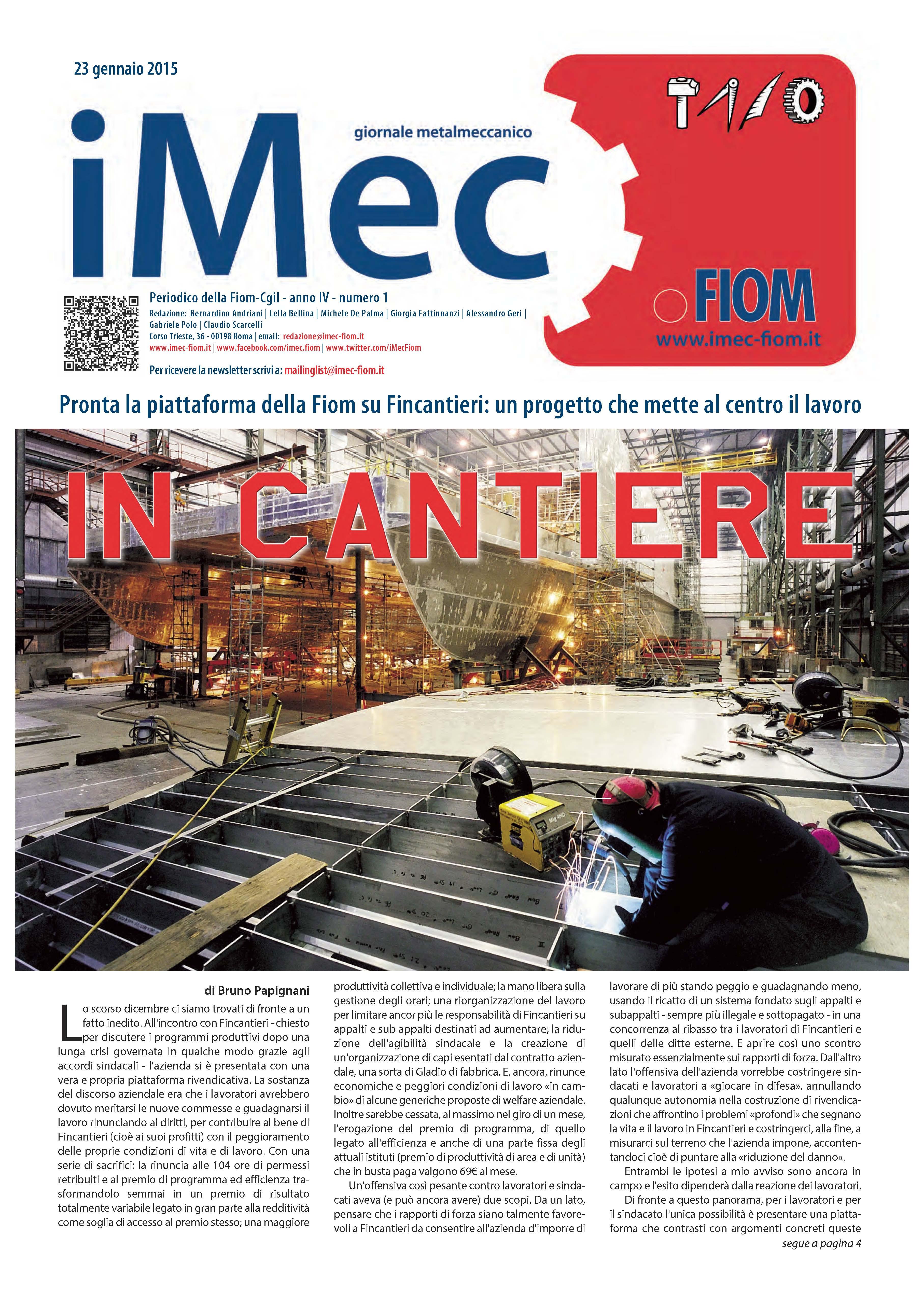 iMec - Giornale metalmeccanico