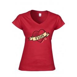 T-Shirt donna - Ci mettiamo il cuore